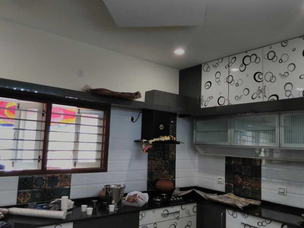 Mangalore style modern kitchen