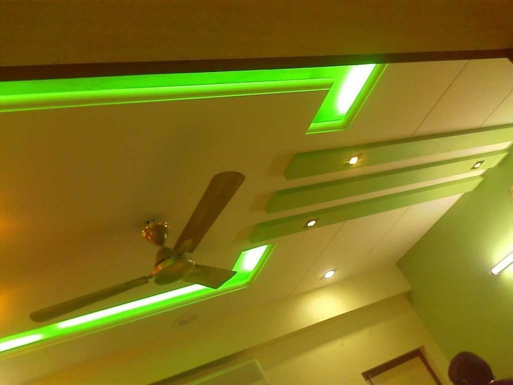 ceiling with led