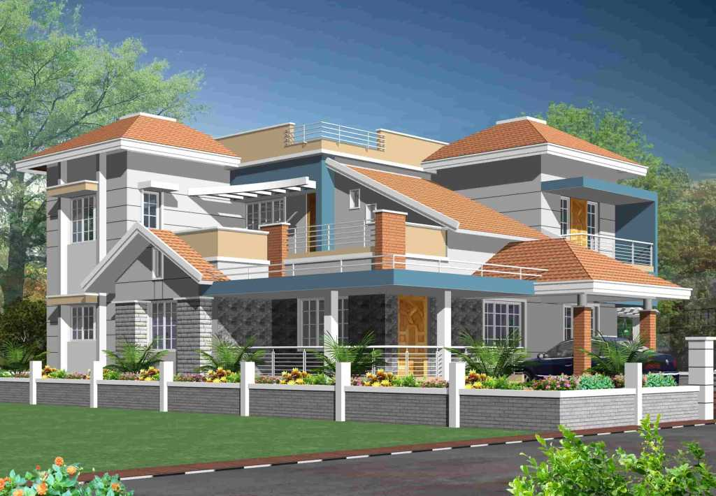 mangalore tiles house design